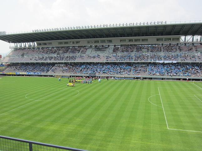 浦和‐鳥栖戦が行われたベストアメニティスタジアム(写真は試合当日のものではありません)