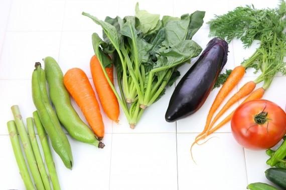 この中でポリフェノールが多い野菜は?