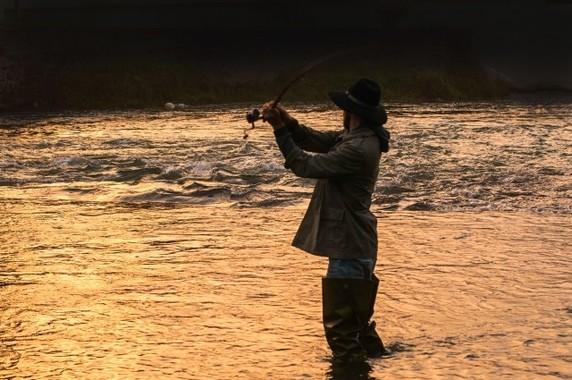 川で釣れた魚は生食を避けるのが無難(写真と本文は関係ありません)