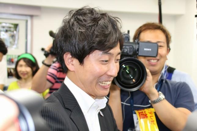 千代田区選挙区で当選を確実にした樋口高顕氏