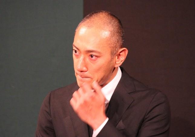 海老蔵さんも「混乱」(2017年6月撮影)