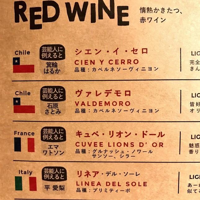 こちらは赤ワイン(写真提供:井口エリ(ちぷたそ)さん)