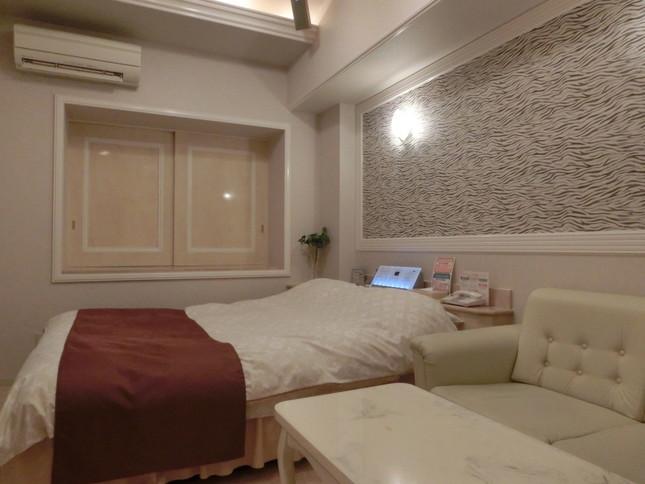 「ホテルハイパーノア」のビジネスプランで使われる部屋。ここに1泊5000円以下で宿泊できる。