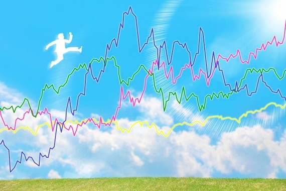 マクドナルドとモスフードの株価は対照的だ(画像はイメージです)