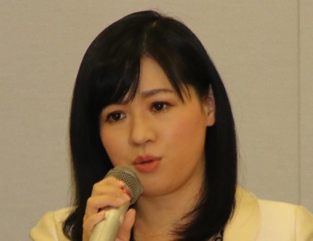 上西小百合衆院議員(写真は2017年3月撮影)