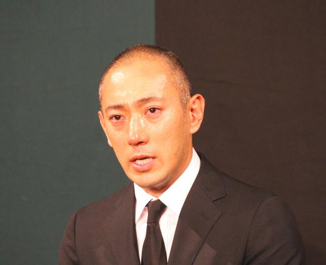 市川海老蔵さん(写真は、2017年6月撮影)