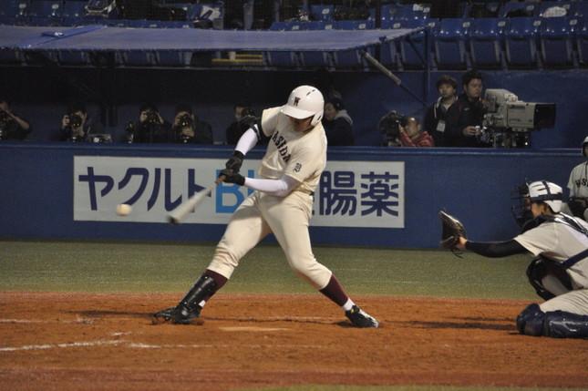 清宮幸太郎擁する早実が西東京大会で準決勝進出(Wikimedia Commonsより。作者:「江戸村のとくぞう」さん)