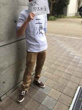 「新人」勧誘を行うメンバーの様子(提供:大阪大学多浪の会)