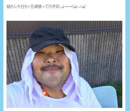 安田大サーカスHIROオフィシャルブログ、2017年8月8日の投稿より
