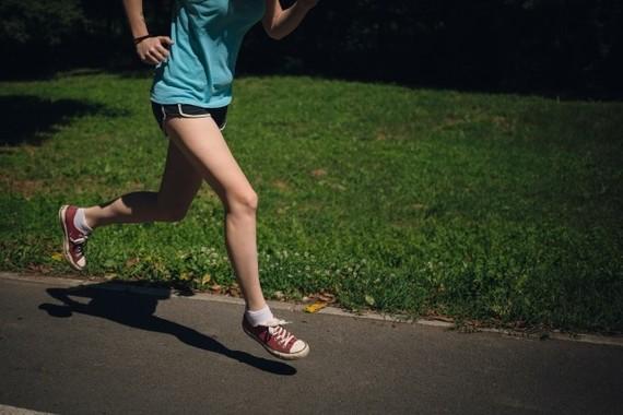 自然に走るのが一番