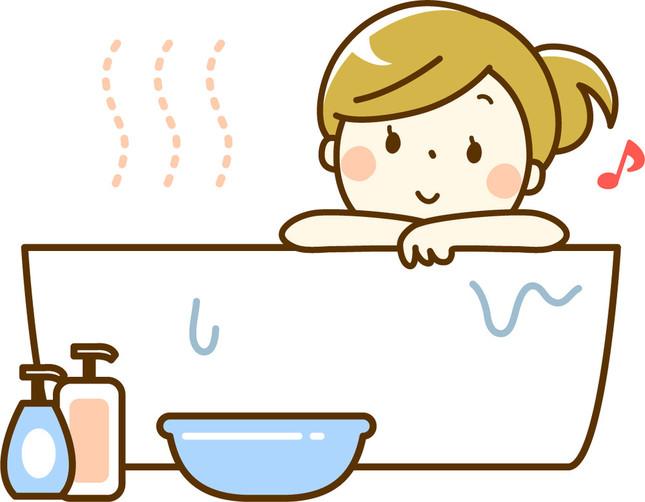 お風呂でストレッチ