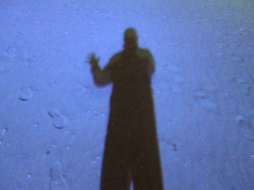 寝ていたら黒い影が…これは、幻