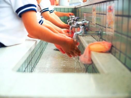 感染予防の基本は手洗い(写真と本文は関係ありません)
