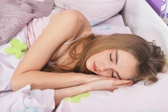 ぐっすり眠りたい