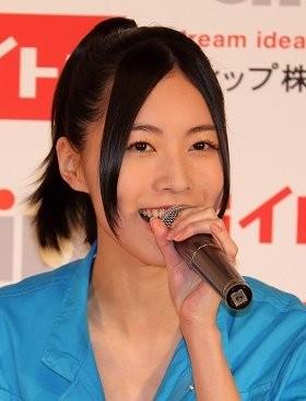 松井珠理奈さん(2014年5月撮影)