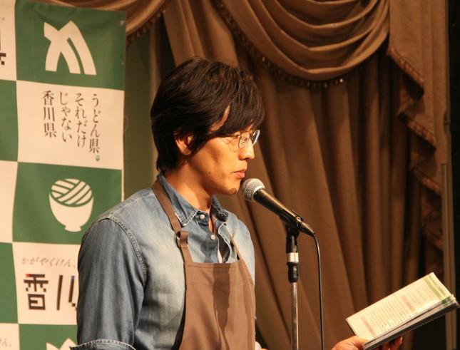 要潤さん(2017年7月24日撮影)