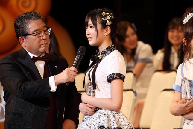 2017年6月の選抜総選挙で「結婚宣言」したNMB48の須藤凜々花さん