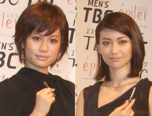 前田敦子さん(左)と大島優子さん(右)(2011年撮影)