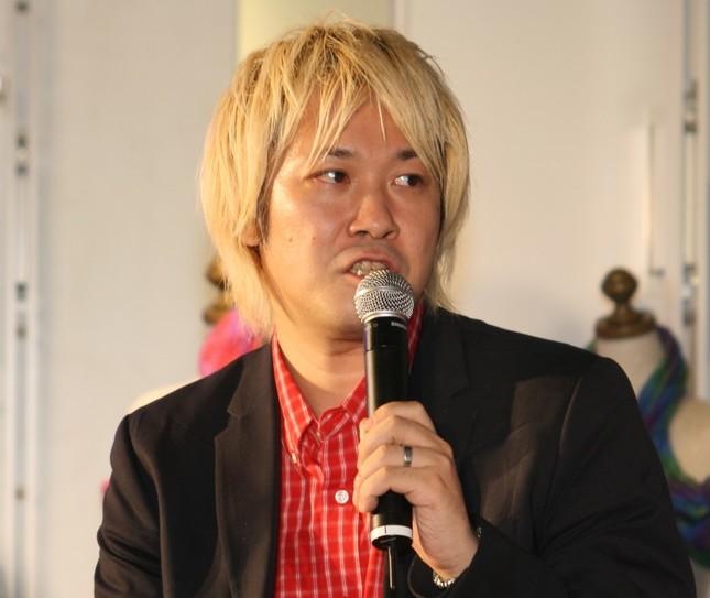 加計問題をめぐり夏野氏と議論を交わした津田大介氏(2012年撮影)