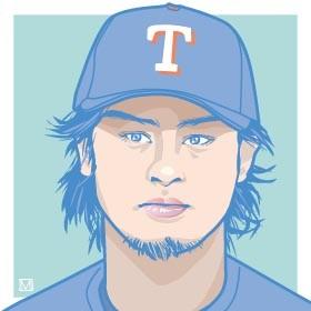 ダルビッシュ有投手(17年7月にドジャースへ移籍)