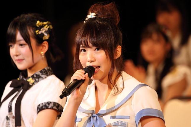 2017年AKB48選抜総選挙での松村さん