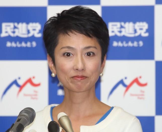 木村太郎氏は、次期首相として民進党の蓮舫氏への期待を述べた(写真は2017年7月撮影)