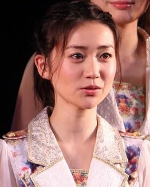 大島優子さん(2016年4月撮影)