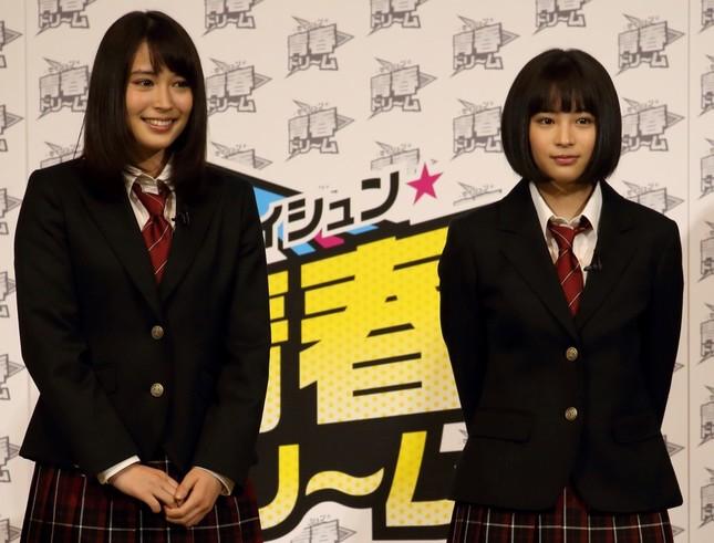 「広瀬姉妹」の動画に反響(2015年4月撮影)