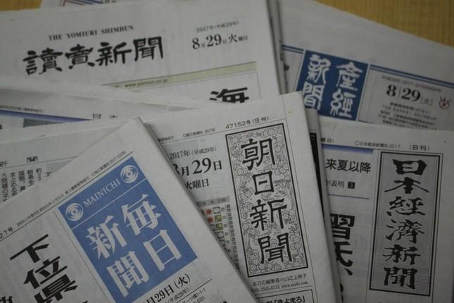 「好調GDP」に新聞論調は分かれている