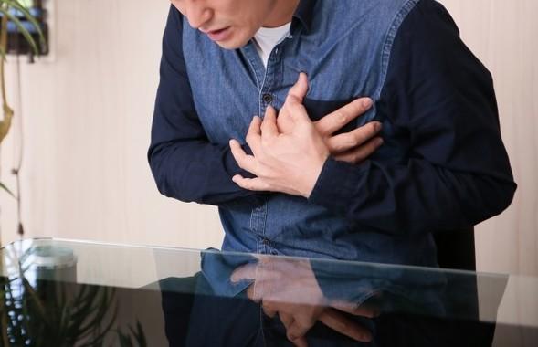黄砂が心筋梗塞を引き起こす