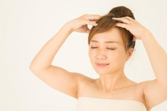 髪の毛のケアは頭皮を軟らかく