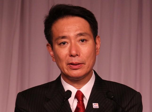 民進党新代表に選出された前原誠司氏