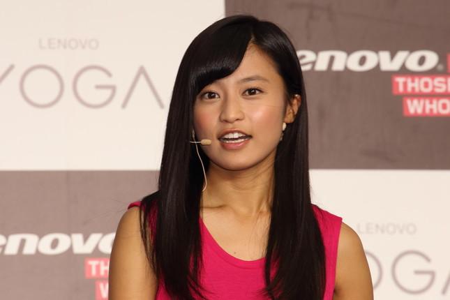 小島瑠璃子さんは「男前」と表現(2014年撮影)