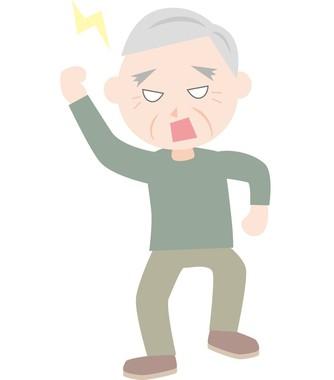キレる老人男性が急増している