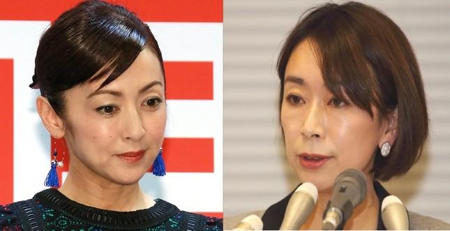 不倫疑惑報道に揺れる斉藤由貴さん(左)と山尾志桜里衆院議員(右)