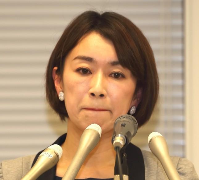 山尾志桜里氏が民進党に離党届を提出した(写真は2016年4月撮影)