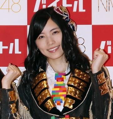 松井珠理奈さん(2014年6月撮影)