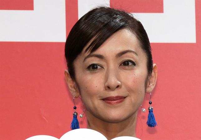 女優の斉藤由貴さん(2017年7月10日撮影)