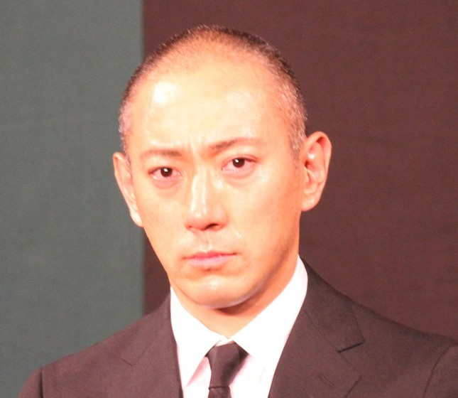 市川海老蔵さん(2017年6月撮影)