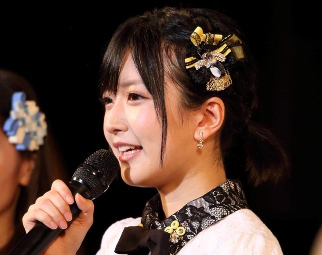 「結婚宣言」の須藤凜々花さん(2017年6月撮影)