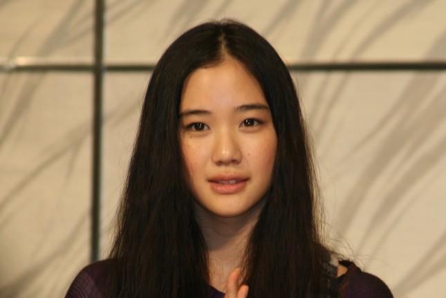 蒼井優さん(2008年撮影)