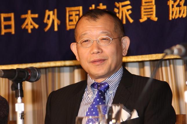インスタグラムを開設した鶴瓶さん(2010年3月撮影)