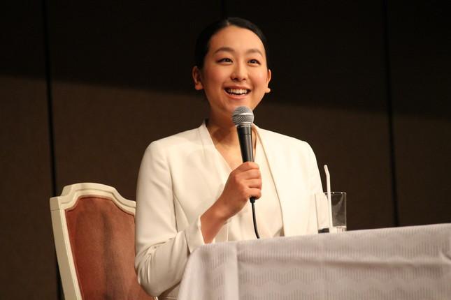 浅田真央さんが公式インスタグラムを開設(2017年4月撮影)