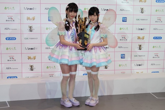 優勝を果たした「fairy w!nk(フェアリーウィンク)」