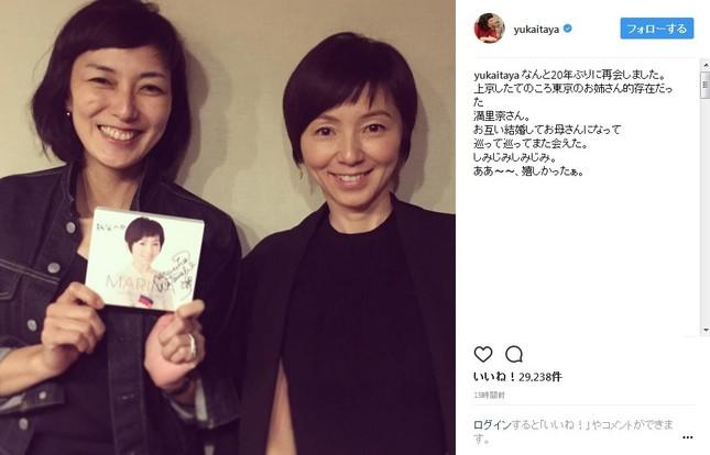 板谷由香さんと渡辺満里奈さん