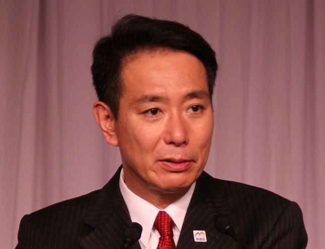 民進党の前原誠司代表