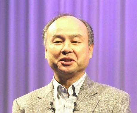 ソフトバンクの孫正義会長兼社長(2017年2月10日撮影)