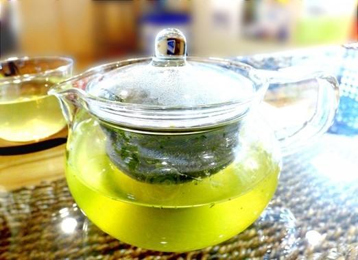 水出し緑茶が和食に合う