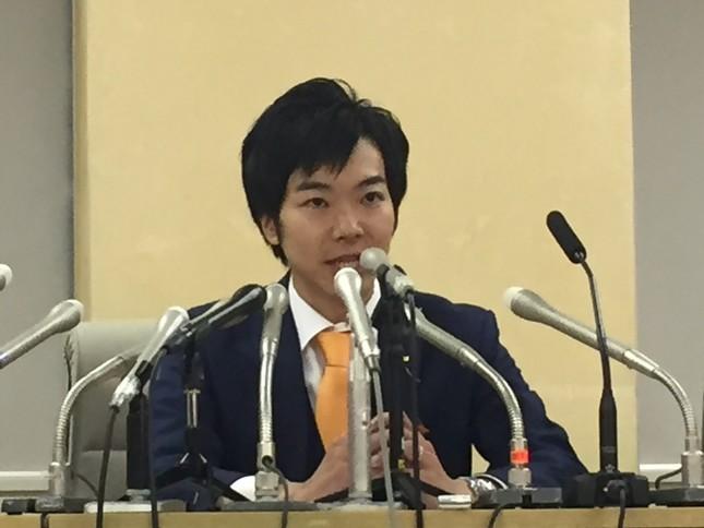 都民ファーストの会への離党届提出を発表した音喜多駿都議