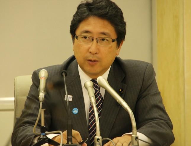 増子博樹・都民ファーストの会幹事長(写真は2017年9月)